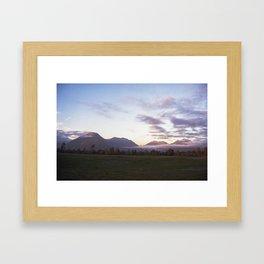 //05-18 DYING LIGHT Framed Art Print