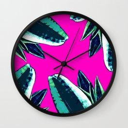 Dusk in summer Wall Clock