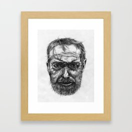 IX Framed Art Print
