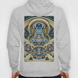 Time Shell. 3D Abstract Design Hoody