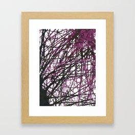 Marble Series, no. 4 Framed Art Print