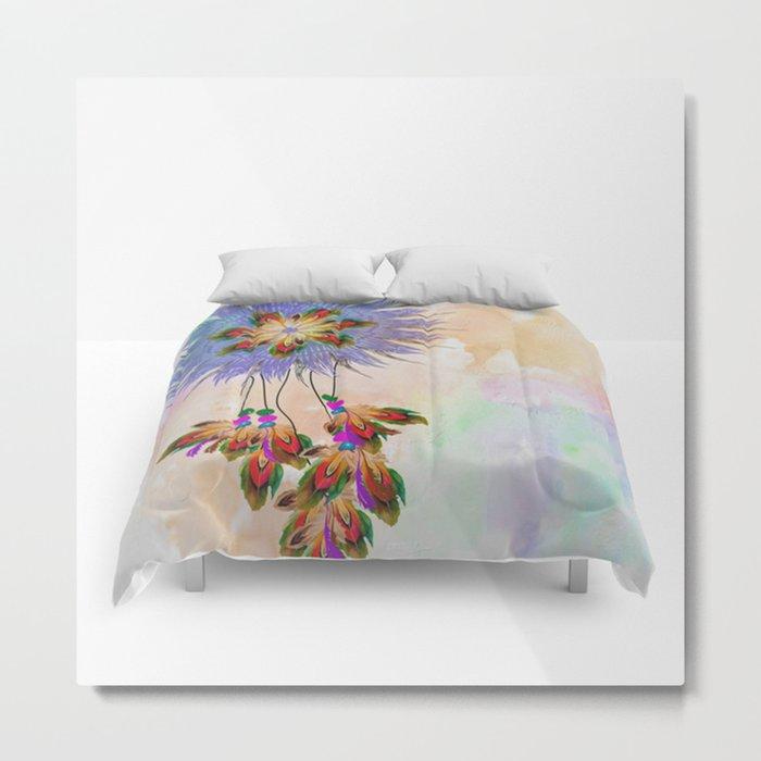 dream catcher comforter Metal Print
