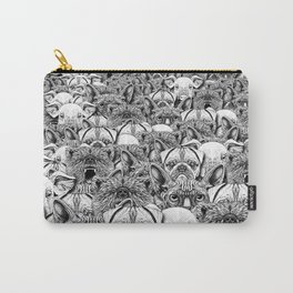 Animal Crowd Carry-All Pouch