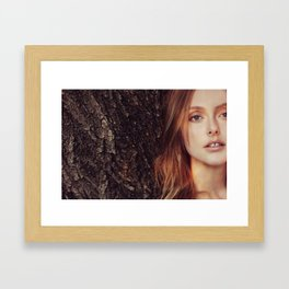 solange Framed Art Print
