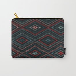 Hand Drawn Winter Pattern Carry-All Pouch