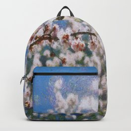 Blooming Almond Tree Backpack
