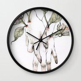 Protuberances Wall Clock