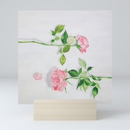 Portrait of late spring Mini Art Print