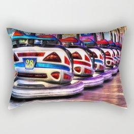 Bumper cars Rectangular Pillow