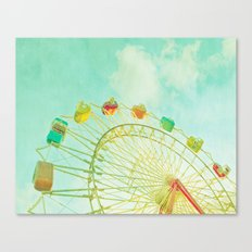 I Remember Summer Canvas Print