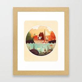 Les 3 Matelots Framed Art Print