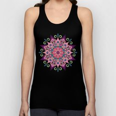 Mandala Bloom Unisex Tank Top