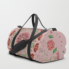 Roses and Carnations 1a Duffle Bag