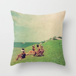 The Sun Forgot Us Throw Pillow