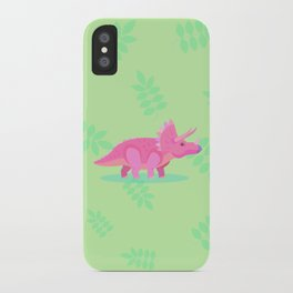 Triceratops, She Always Had an Attitude iPhone Case