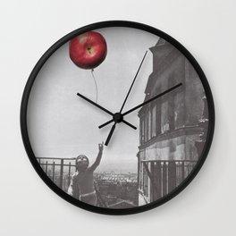 La Pomme Rouge Wall Clock