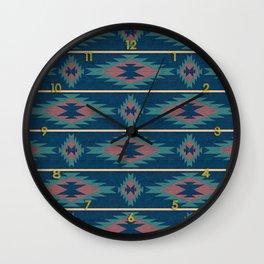 Native Spirit Pattern Wall Clock