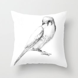 Kestrel quarter Throw Pillow