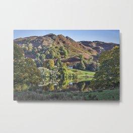 Loughrigg Tarn. Metal Print