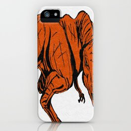 wicked dinosaur iPhone Case