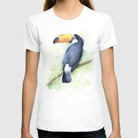 toucan T-shirts featuring Toucan by Olechka