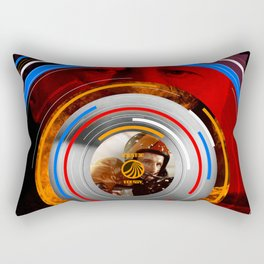 Visions of the Future :: Rollerball Rectangular Pillow