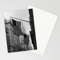 New York, NY.  Patriotism Stationery Cards