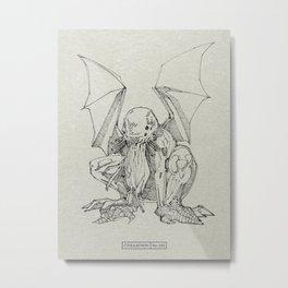 CTHULATHON | CTHULHU 345 Metal Print