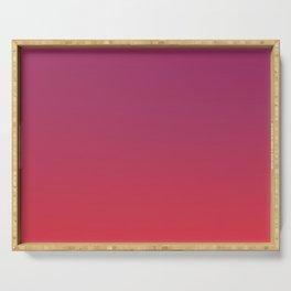 CASINO GLORY - Minimal Plain Soft Mood Color Blend Prints Serving Tray