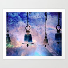 Freedom Rings in the Dark Art Print