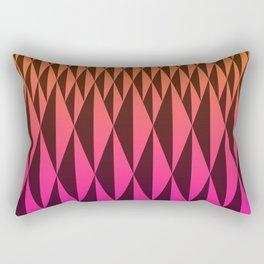 Foreign Wood at Dawn Rectangular Pillow