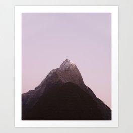 Mountain Series  - Mitre Peak Art Print