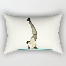 Skater Tricks Rectangular Pillow