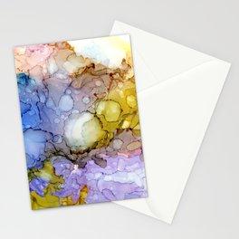 Sea Pools Lavender Sun Navy Lava Surge Stationery Cards