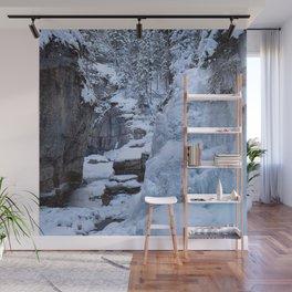 Icewalk in Maligne Canyon, Canada Wall Mural