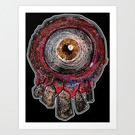 Tooth Fairy Monster Art Print