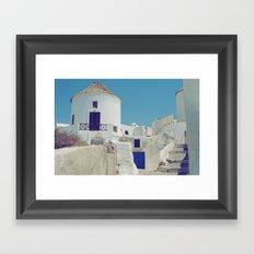 Windmill House III Framed Art Print