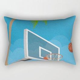 Basketball No. 2 Rectangular Pillow