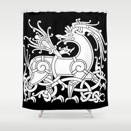 Ringerike Style Ornament IV Shower Curtain