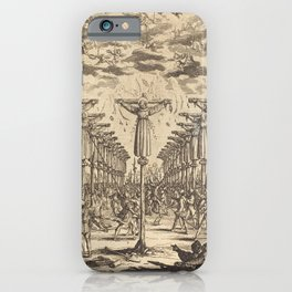 Jacques Callot - The Martyrs of Japan iPhone Case