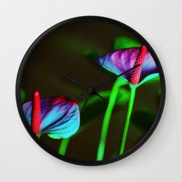 intense Wall Clock