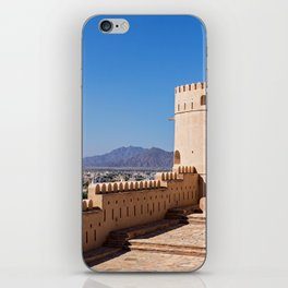 Nakhl Fort, Oman iPhone Skin