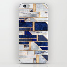 Blue Winter Sky iPhone Skin