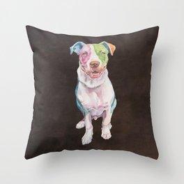 American Bull Terrier Throw Pillow