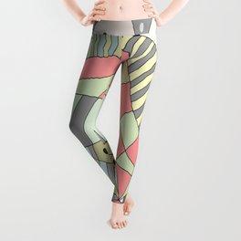DOODLE DESIGNS / ORIGINAL DANISH DESIGN bykazandholly  Leggings