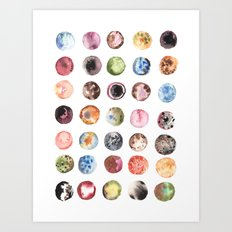 Moon Eclipse Art Print