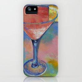 Marilyn Monroe Martini iPhone Case