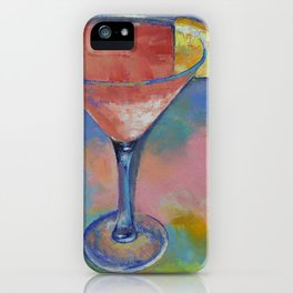 Marilyn Monroe Martini iPhone Case