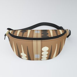 Backgammon Game Fanny Pack