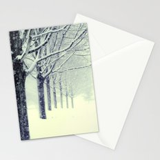Winter's Walk Stationery Cards